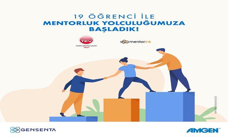 Amgen ve Gensenta, Türk Eğitim Vakfı Bünyesinde Burs Alan Öğrencilere Mentorluk Desteği