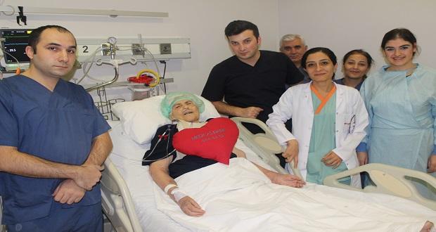 83 Yaşındaki Hastaya Koroner Bybass Ameliyatı