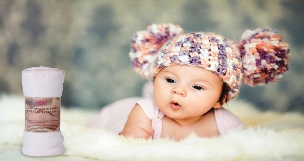 Bebeğiniz İçin Organik Battaniye