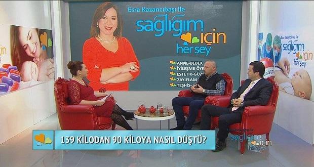 Dr. Orhan Celen ve Tüp Mide Ameliyatıyla 49 Kilo veren Murat Uzuner