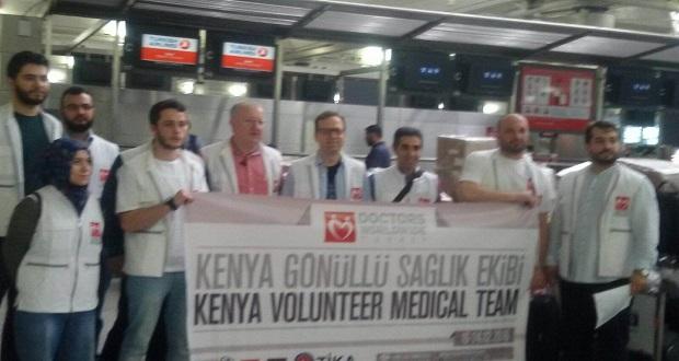 Yeryüzü Doktorları Kenya'da Şifa Dağıtacak
