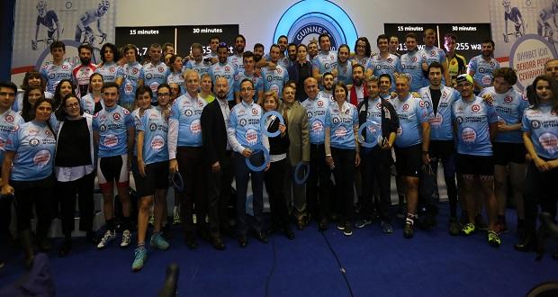 Diyabet İçin Bisikletçiler, Dünya Rekoru Kırdı