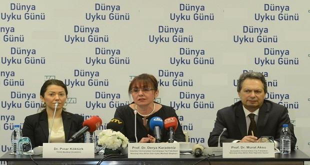 Türkiye'de Her 5 Kişiden Birinde Gündüz Aşırı Uykululuk Görülüyor