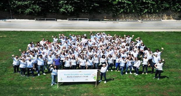 Roche Çalışanları Tüm Dünyada Çocuklar İçin Yürüdü