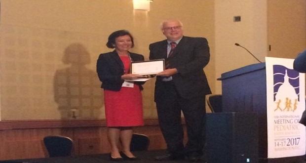 Prof. Dr. Feyza Darendeliler'e ABD'de Ödül