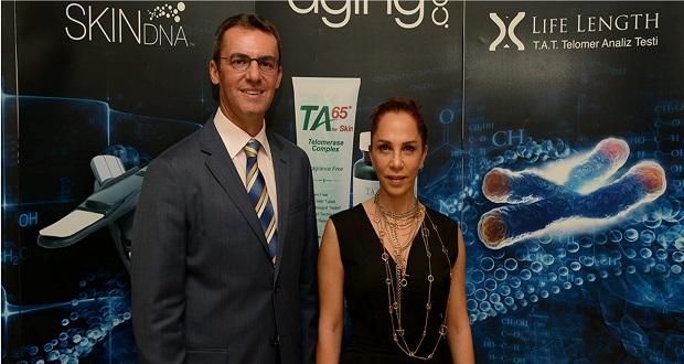 Sertap Erener Biyololjik Yaşı 40'ta Durdurmak ve Telomerler konuşması