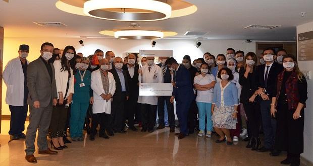 VM Medical Park Samsun Hastanesi, Donör Bağışçısı Özel Hastanesi Unvanı Aldı