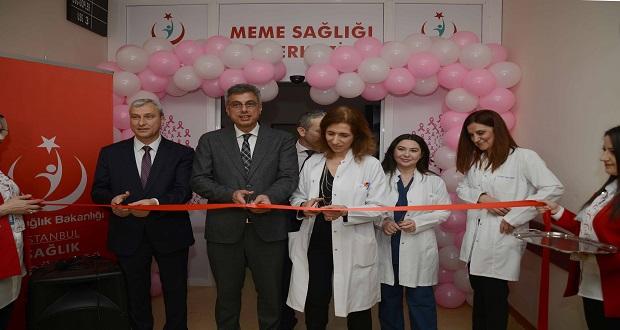Haydarpaşa Numune Eğitim ve Araştırma Hastanesi Meme Sağlığı Merkezi Açıldı