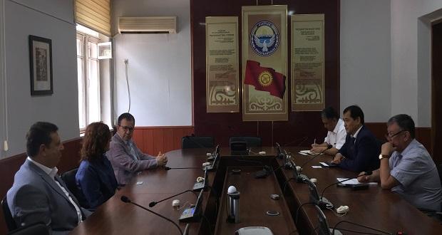 Türk Başhekimden Kırgızistan'da Ücretsiz Kanser Muayenesi