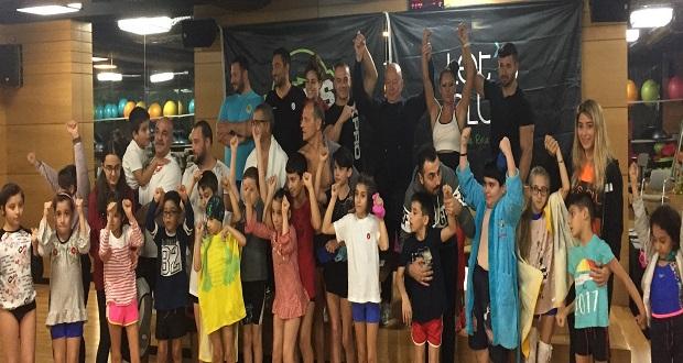 Cerebral Palsy'li Çocuklar Guiness Dünya Rekoru Sahibi Namık Ekin İle Yüzerek Eğlendi