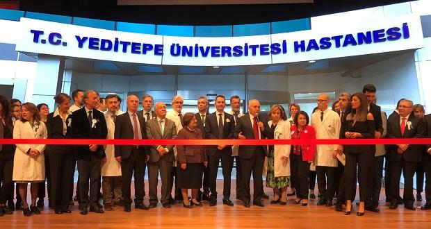 Yeditepe Üniversitesi Koşuyolu Hastanesi'nin Resmi Açılışı Gerçekleşti