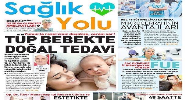 """""""Türkiye'ye Sağlık Yolu"""" Eki Hürriyet Avrupa İle Birlikte Yayınlandı"""