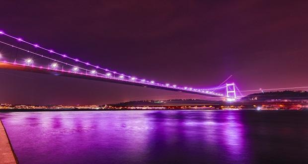 Köprüler Epilepsi Farkındalığı İçin Mor Oldu