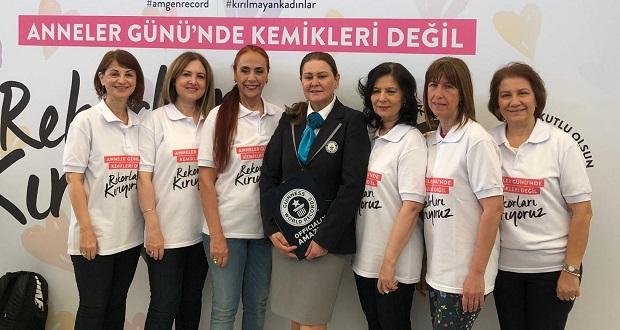 Türkiye Osteoporoz Derneği ve Amgen'dan Guınness Dünya Rekoru