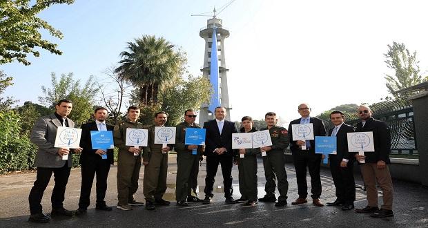 THK İzmir Paraşüt Kulesi, Prostat Kanseri İçin Mavi Kravat Taktı