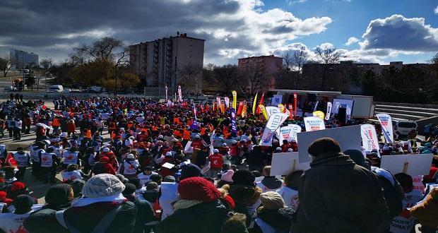 """İSTAHED: """"Sağlık Çalışanlarına Karşı Uygulanan Teröre Dur Demek İçin Ankara'da Toplandık"""""""