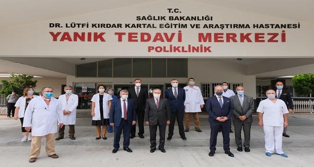 İstanbul Kartal Dr. Lütfi Kırdar Şehir Hastanesi Yanık Ünitesi Yenilendi