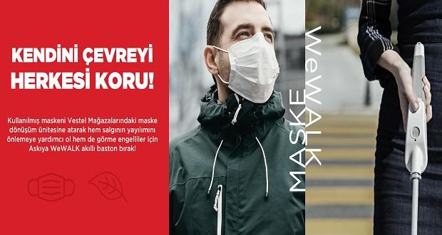 Vestel'den Toplum Sağlığına Destek: 'Maske Dönüşüm Ünitesi'