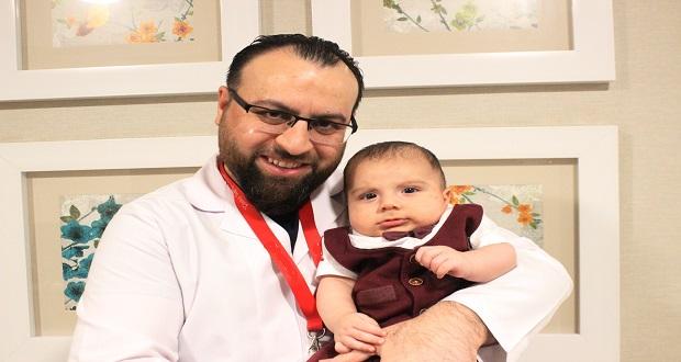 Böbrek Hastası İki Aylık Bebek Ameliyatla Sağlığına Kavuştu